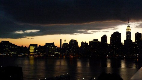 Sunset Over the NYC Skyline