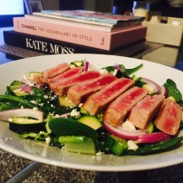 Greek Salad & Seared Tuna