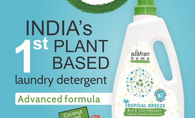 Plant-based liquid laundry detergent launched