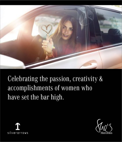 She's Mercedes: A platform to connect, converse, engage and empower women