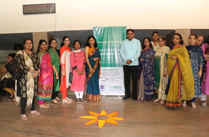 Jiva Ayurveda introduces six-month Ayurveda and Yoga course at Gargi College