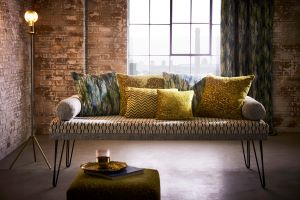 Kaleidoscope furnishing fabrics from Clarke & Clarke
