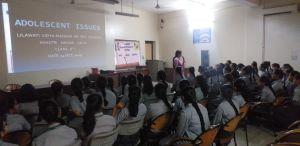 Adolescent Issues discussed at Lilawati Vidya Mandir School