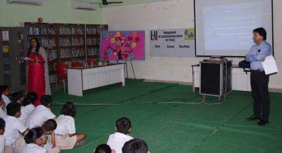 Workshop on Communication Skills @ Bal Bhavan International School