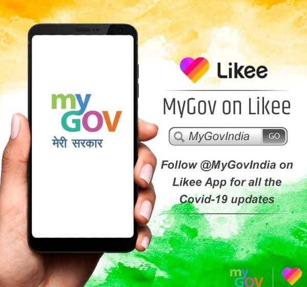 MyGovIndia profile on Likee to empower youth against Covid-19