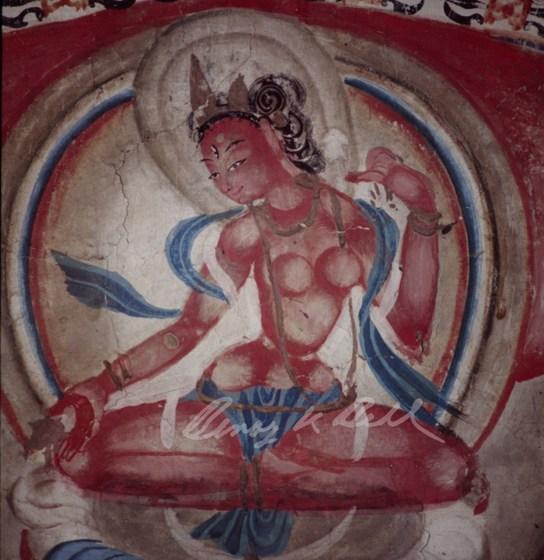 Oldest surviving Tibetan murals