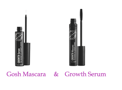 Gosh Mascara and Growth Serum