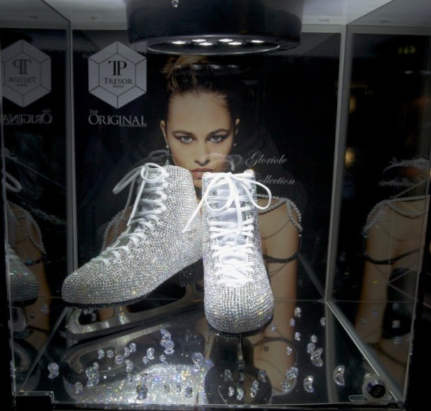 Crystallised skates worth £4,995.
