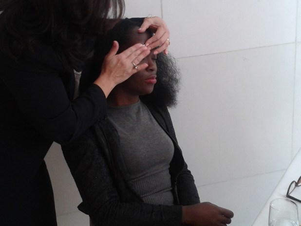 Nad's facial wand eyebrow shaper demonstration
