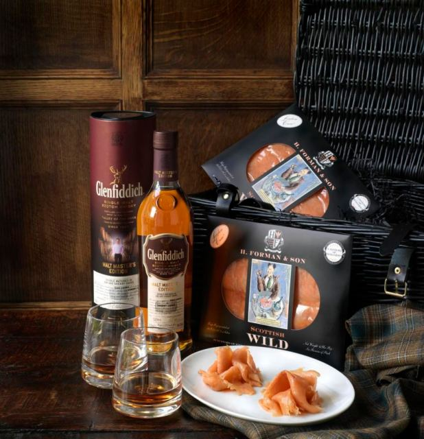 DOUBLE SCOTCH Hamper by Forman & Field and Glenfiddich