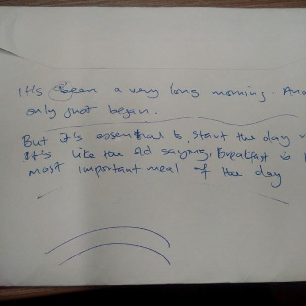 Sample handwriting analyzed by Emma