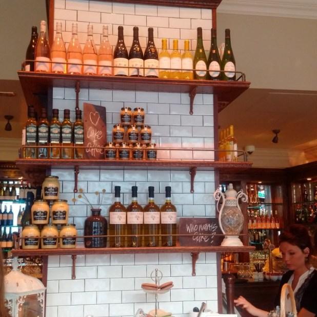 Cafe Rouge bar