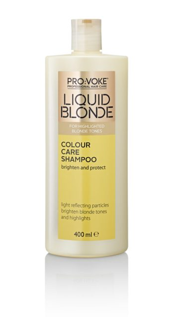 Lifeandsoullifestyle.com - Liquid Blonde Colour Care Shampoo 400ml