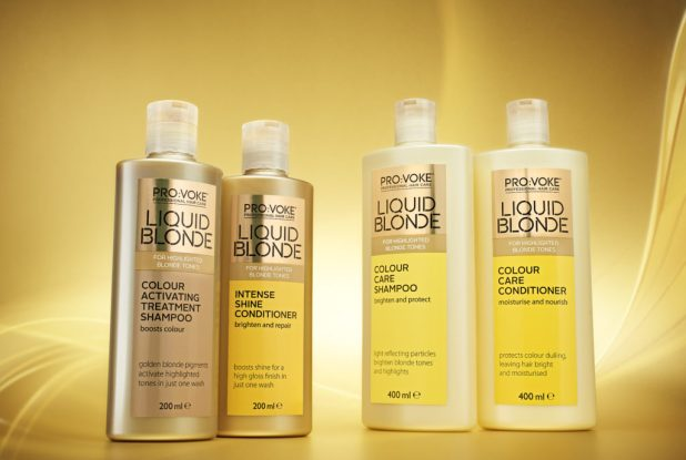 Liquid Blonde Product Line Up