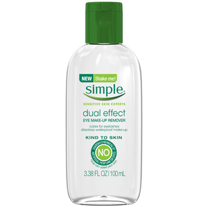 www.lifeandsoullifestyle.com - Simple Kind to Skin Dual - Effect Eye Make - Up Remover Review
