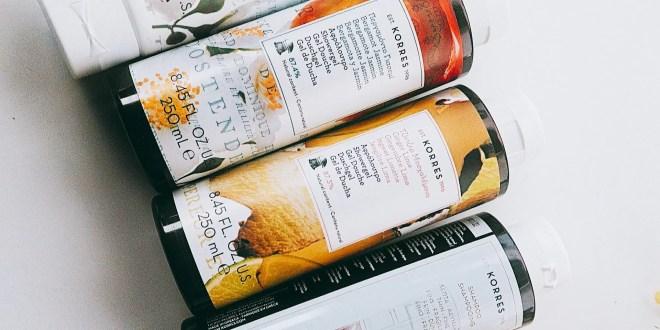www.lifeandsoullifestyle.com – Korres skincare review - shower gels