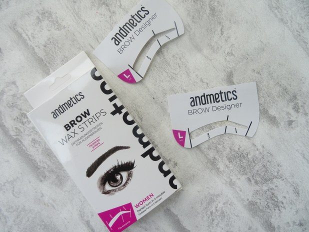 www.lifeandsoullifestyle.com – Andmetics Brow Wax Strips beauty review