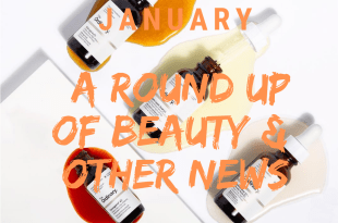 www.lifeandsoullifestyle.com – January Beauty news round-up