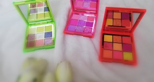 www.lifeandsoullifestyle.com – My Favourite Makeup Looks created with Huda Beauty Neon Obsessions Eyeshadow Palettes