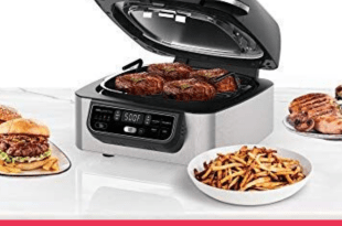 www.lifeandsoullifestyle.com – Ninja Kitchen Health Grill and Air Fryer