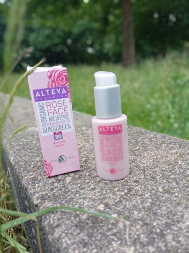 www.lifeandsoullifestyle.com - Alteya Organics Rose Face Age Defense Sunscreen SPF 30
