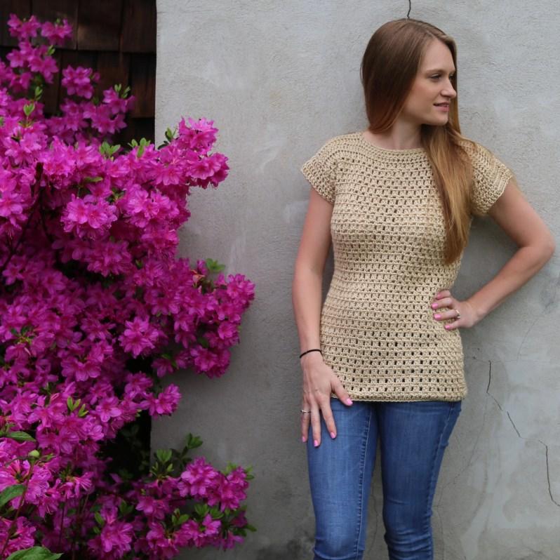Original Felicity Tee Free Crochet Pattern