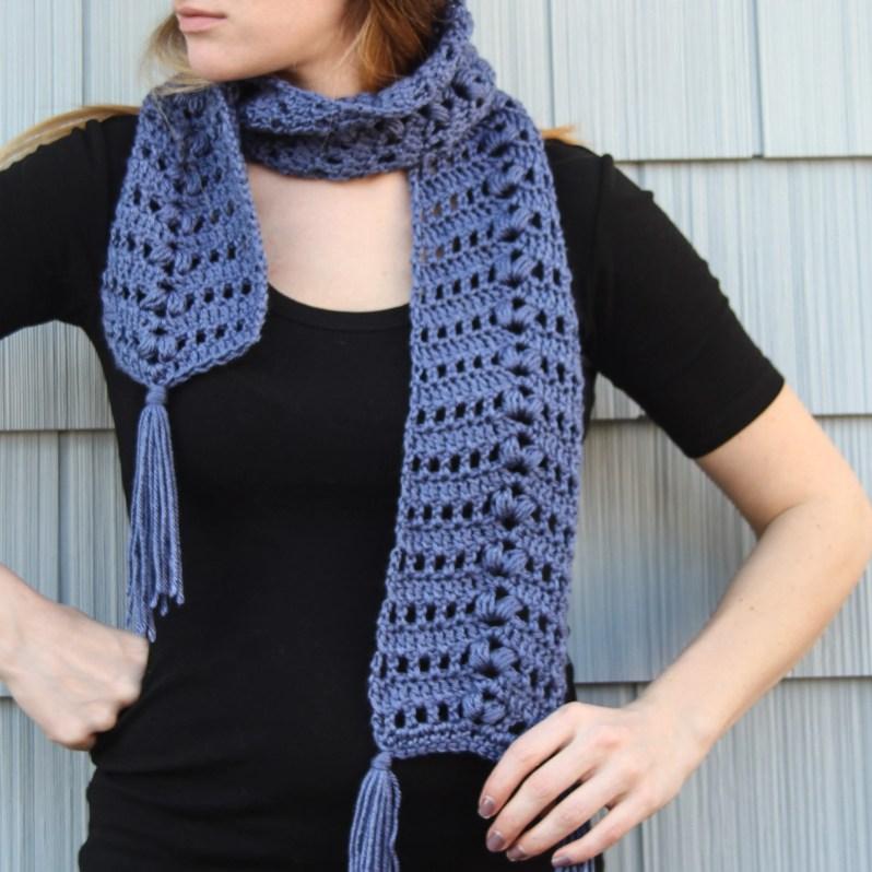 Sia Scarf Free Crochet Pattern