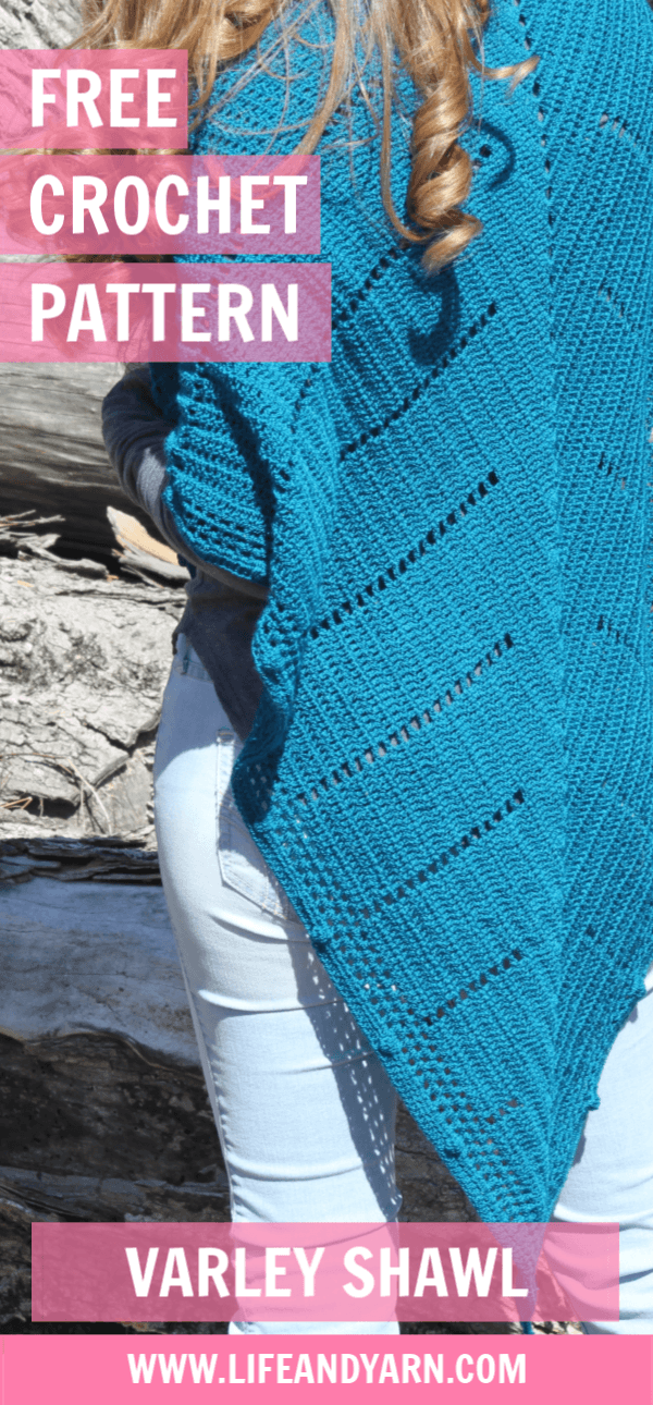 Free Crochet Varley Shawl Pattern