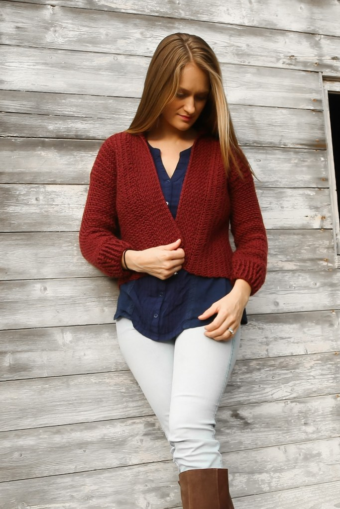 Women's Crochet Cardigan Pattern