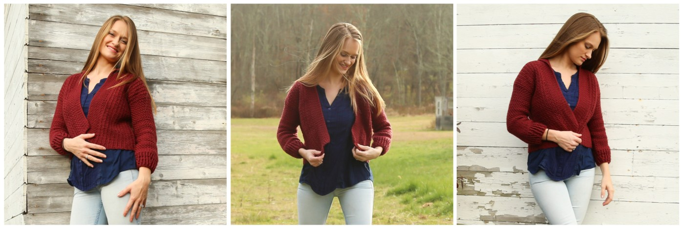 Free Crochet Cardigan Pattern - Ruby