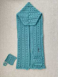 crochet vest with pockets
