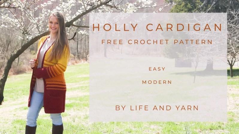 beginner crochet project