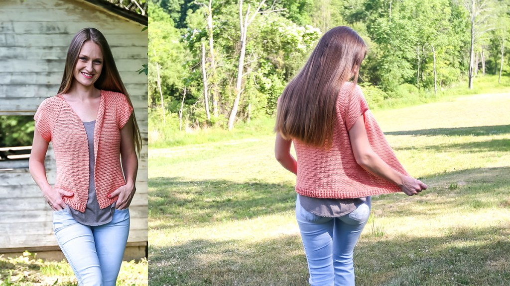 Basic Short Sleeved Crochet Raglan - Free Pattern