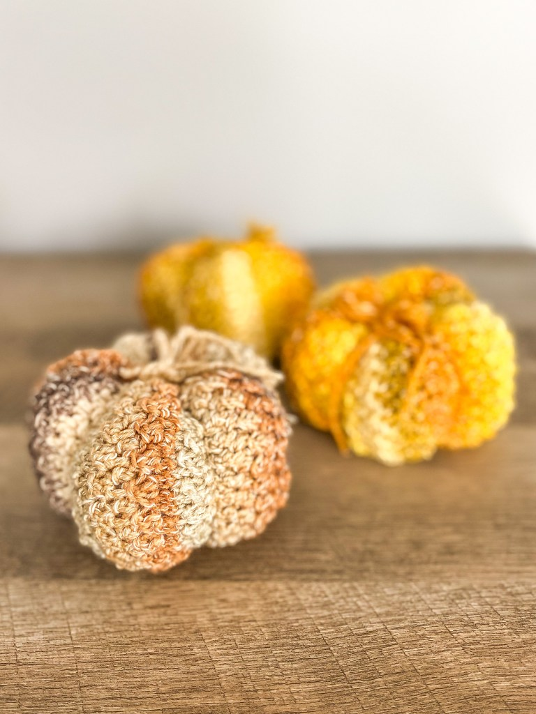 DIY Crochet Pumpkins  Free Pattern