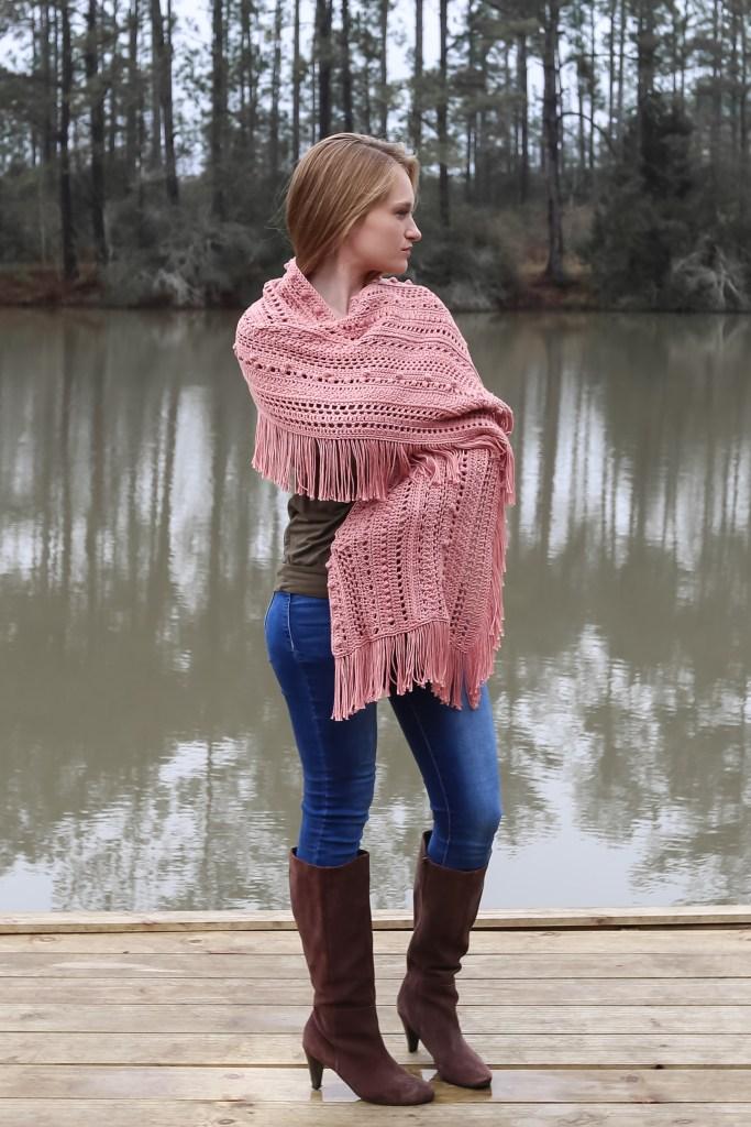 Beautiful Free Crochet Shawl Pattern to make now!