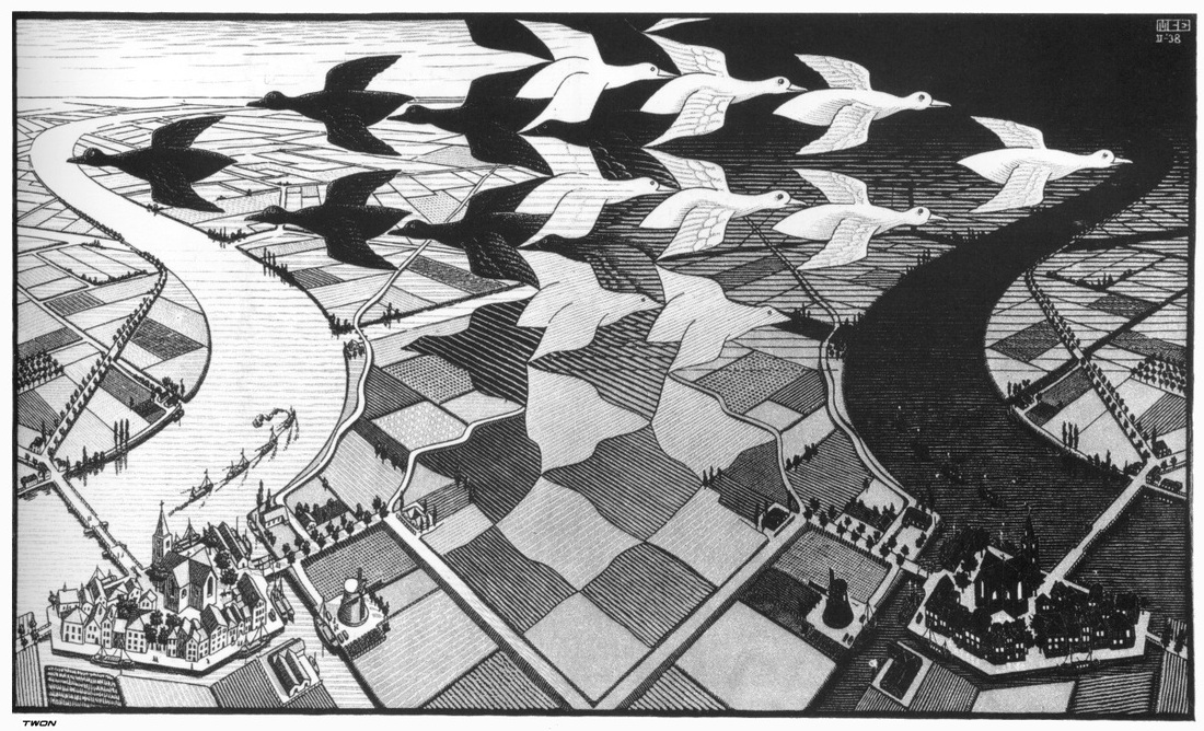 Day and Night by Escher
