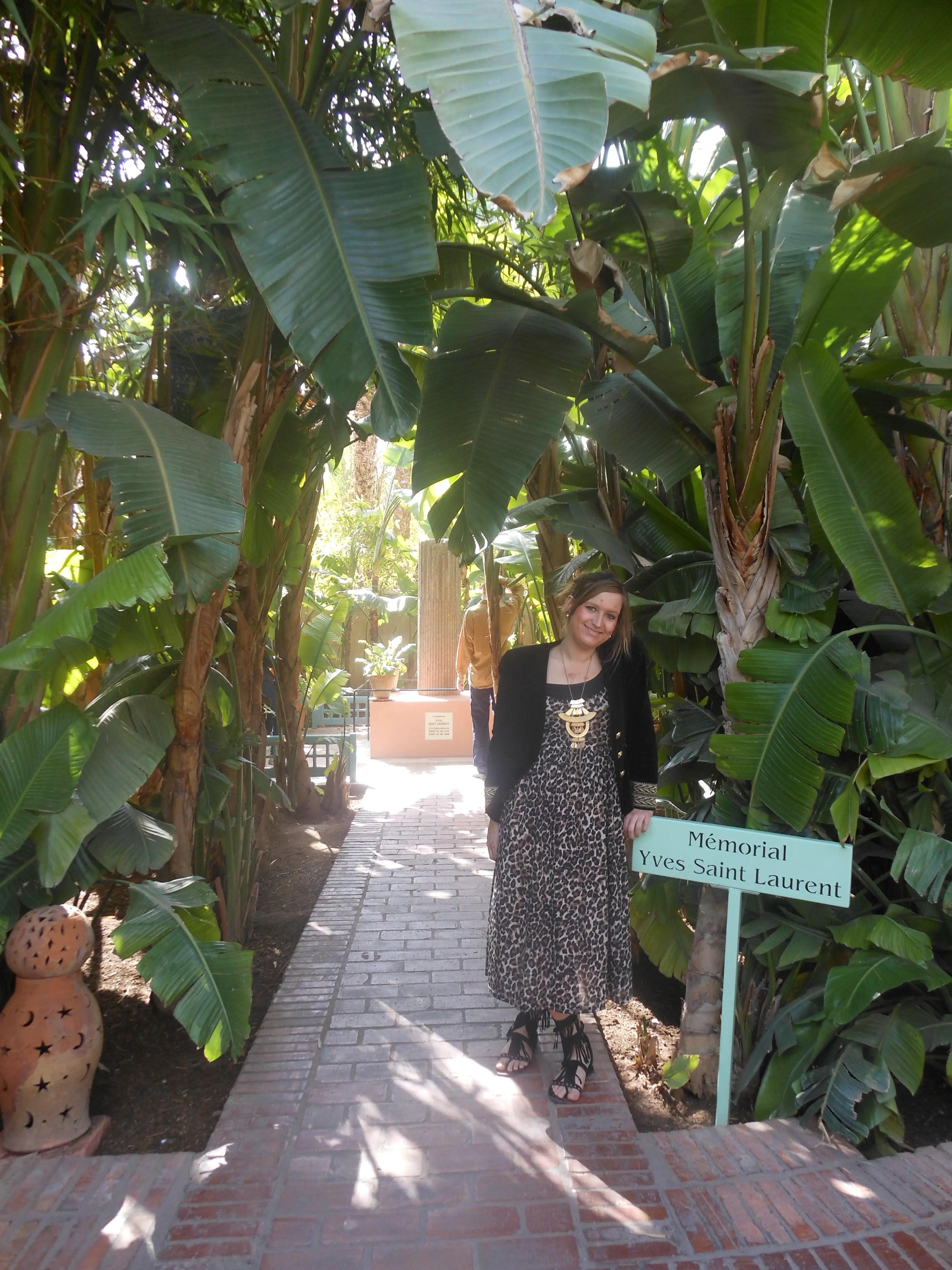 Majorelle Yves Saint Laurent Gardens