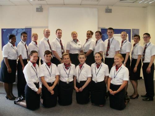 British Airways mixed fleet training