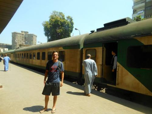 Egyptian Sleeper Train