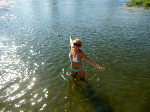 Swimming in the Nile!