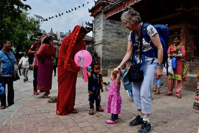 Reflections from Kathmandu: 6 days, 1 grandmother, 1 mother and a baby
