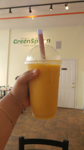 Mango Smoothie- Greenspoon