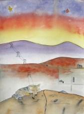 Dreamy Desert, Coyote