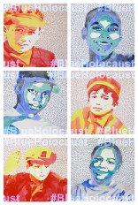 #ArttoEndViolence is a new series of watercolor portraits dedicated to ending violence. The second set, #BlueHolocaust depicts young African America boys killed in police-involved shootings.