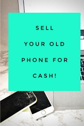 trade-in your old devices for cash - spring cleaning