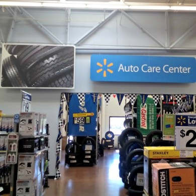 Must Stop Places on a Road Trip   Life as Leels Run errands while your car is cared for at Walmart Auto Care Center   DropShopAndOil
