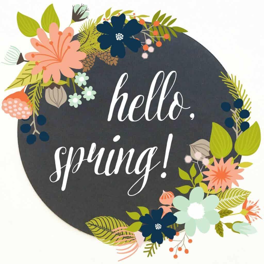 9 Free Spring Amp Easter Printables