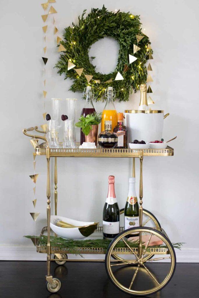 DIY New Year's Eve decor