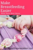 Make Breastfeeding Easier