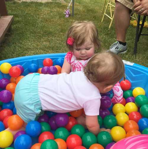 First Birthday Party Ball Pit